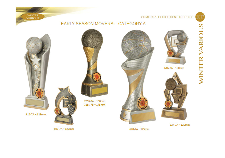 Basketball Trophies Promotion
