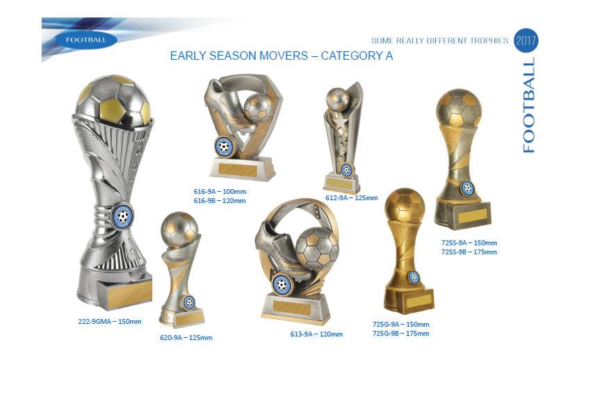Football Soccer Trophies Promotion
