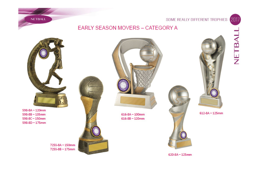 Netball Trophies Promotion