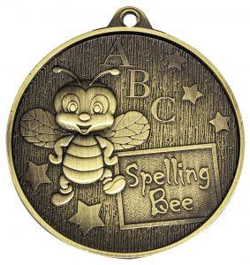 Academic Spelling Bee Medal