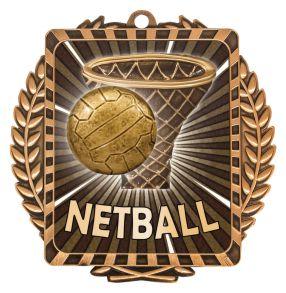 Netball Wreath Bronze Medal