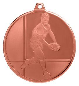 Rugby Glacier Frosted Bronze Medal