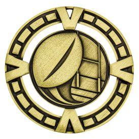 Rugby Varsity Medal Gold