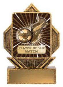 Soccer Lynx Arrow Player of the Match LA082