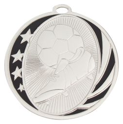 Soccer Medal Silver MB904S