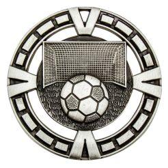 Soccer Varsity Medal Silver MY904S