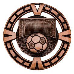 Soccer Varsity Medals Bronze MY904B