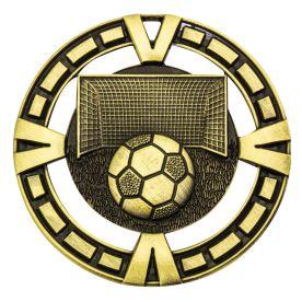 Soccer Varsity Medal Gold MY904G