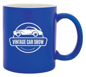 Ceramic Coffee Cup Blue