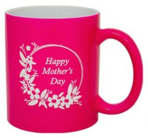 Ceramic Coffee Cup Pink