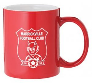Ceramic Coffee Cup Red