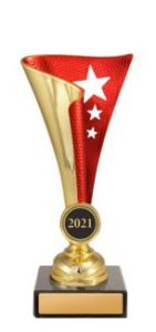 Dance Epic Cups Gold & Red