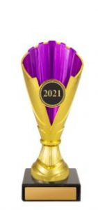 Dance Norwood Cup Gold & Purple