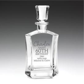 Glassware Elixir Decanter 800ml