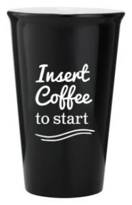 Ceramic Latte Mug 415ml Black