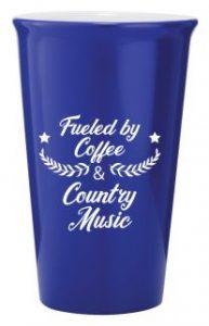 Ceramic Latte Mug 415ml Blue