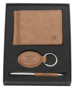 Leatherette Gift Set