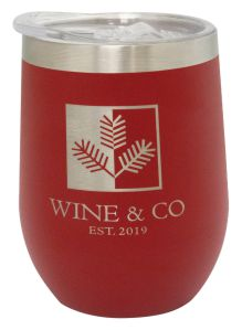 Steamless Tumbler Red 350ml